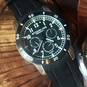 Mens Stuhrling Aviator Watch